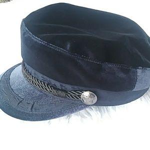 H & M ❇ navy captain's hat